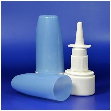 fasten cap nasal spray bottle