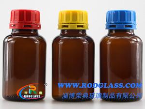 250ML棕色广口试剂玻璃瓶