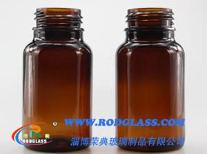 500ML棕色广口试剂玻璃瓶