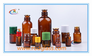 amber sample glass bottle for flavour,fragrance,vaious size