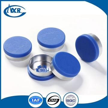 Aluminium cap rubber stopper