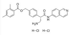 2,4-二甲基苯甲酸 [4-[(1S)-1-(氨基甲基)-2-(6-异喹啉基氨基)-2-氧代乙基]苯基]甲基酯二盐酸盐