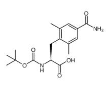 (叔丁氧羰基-2,6-二甲基-4-甲酰胺基-L-苯丙氨酸