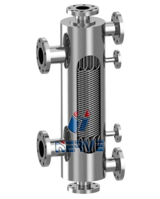 NV-雙股流不銹鋼纏繞式換熱器