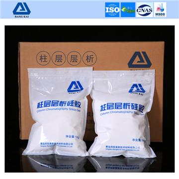 柱层层析硅胶专业生产商 青岛邦凯直供 试剂级80-120目 36/kg