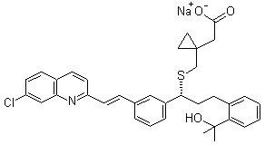 孟鲁司特钠 Montelukast Sodium