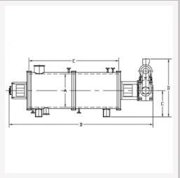 HTE型卧式薄膜蒸发器