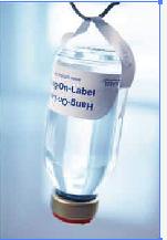 输液瓶用倒挂标签