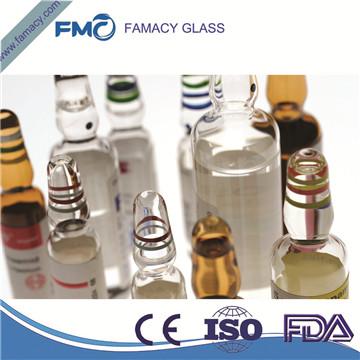 20ml棕色/透明一类硼硅D型安瓿瓶