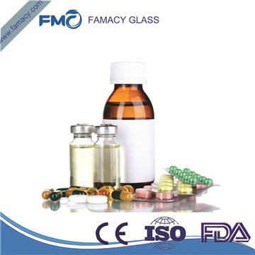 50ml/50R棕色/透明药用管制瓶一类硼硅管制注射剂瓶西林瓶