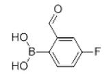 4-氟-2-醛基苯硼酸