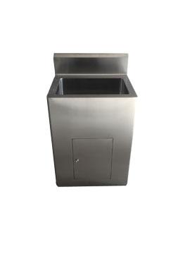 无角正面洗手池