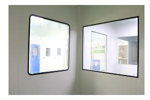 YT-LSC铝合金双层洁净窗