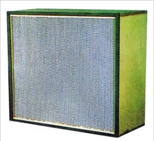 GNW系列耐高温高效空气过滤器