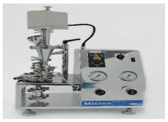 Micron Jet Mill lab