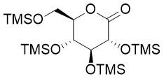 2,3,4,6-四-O-三甲基硅基-D-葡萄糖酸内酯,(3R,4S,5R,6R)-3,4,5-tris((trimethylsilyl)oxy)-6-(((trimethylsilyl)oxy)met