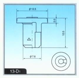 13-D1丁基橡胶冻干瓶塞