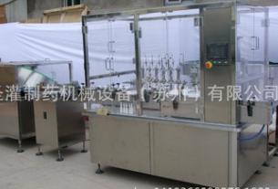 SGPW-1/2喷雾剂灌装生产线 消字号 械字号 药字号喷雾剂灌装机