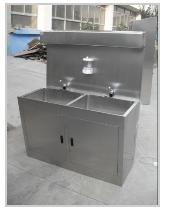 不锈钢水池带感应水龙头