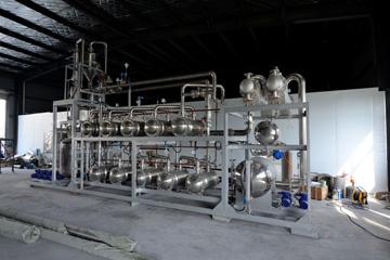 渗透气化无机膜有机溶剂脱水成套设备