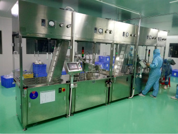 塑料预灌封注射器灌装生产线