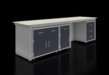 O型钢架结构固定实验台系统