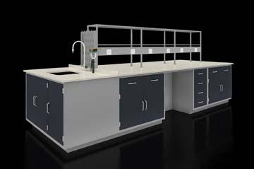 全钢落地结构固定实验台系统