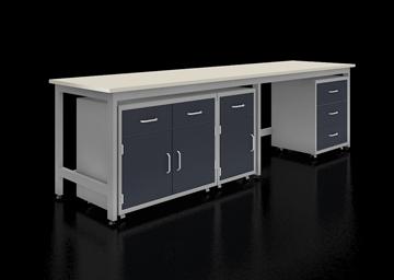 H型钢架结构固定实验台系统
