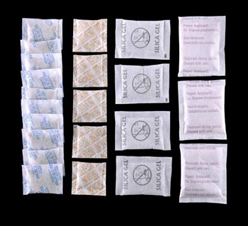 药用纸袋装硅胶干燥剂3-5克