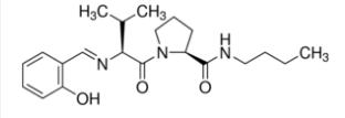 (S)-N-Butyl-1-[(S)-2-((E)-2-hydroxybenzylideneamino)-3-methylbutanoyl]pyrrolidine-2-carboxamide