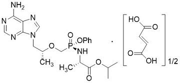 富马酸磷丙替诺福韦tenofovir alafenamide fumarate