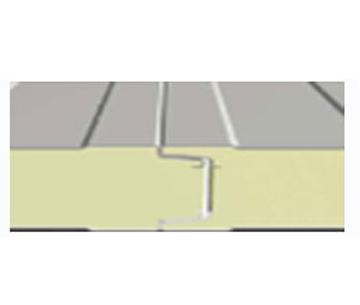 单凹凸槽插口型聚氨酯冷库板