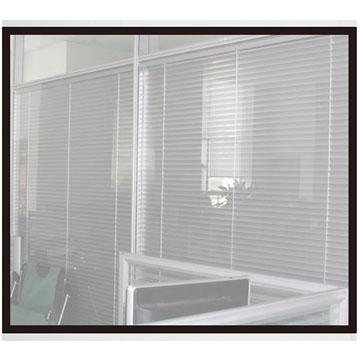 双层钢化玻璃中字铝链接视窗