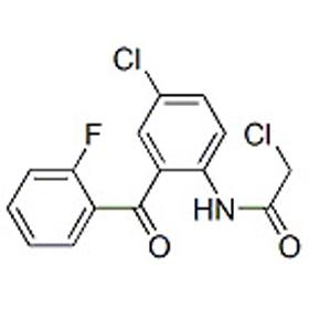 2-氯-N-[4-氯-2-(2-氟苯基)苯基]乙酰胺