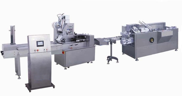 HZ260-100枕式包装机-装盒机自动生产线