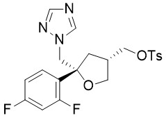 (2R-顺)-2-(2,4 -二氟苯基)-4 - [[(4 -甲基苯基)磺酰氧基]甲    基]-2-[(1H-1,2,4-三唑-1-基)甲基]四氢呋喃(5R-cis)-Toluene-4-sulfo