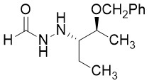 2-[3-(2S,3S)-2-(苄氧基)戊基]甲酸酰肼2-[(1S,2S)-1-Ethyl-2-(phenylmethoxy)propyl]hydrazinecarboxaldehyde