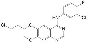 N-(3-氯-4-氟苯基)-6-(3-氯丙氧基)-7-甲氧基-4-喹唑啉胺N-(3-Chloro-4-fluorophenyl)-6-(3-chloropropoxy)-7-methoxyquinaz