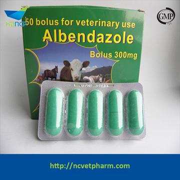 300mg Albendazole Tablet/Bolus