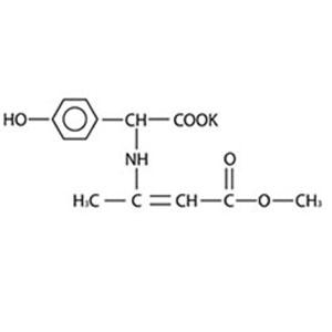 左旋对羟基苯甘氨酸邓钾盐