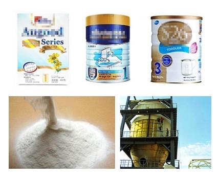 作为婴儿配方奶粉、糖果、以及其他食品的食品添加剂