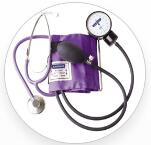 SPHYGMOMANOMETER KIT WITH LARGE MANOMETER