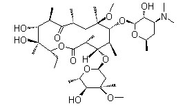 Aza-erythromycin