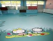 幼儿园个性化定制PVC塑胶地板