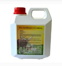 10% Enrofloxacin oral solution