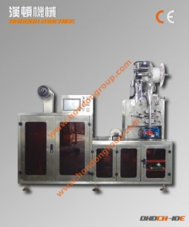 DXDCH-10E 全自动三角包内外袋包装机(一体机)
