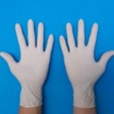 操作箱手套-天然乳胶