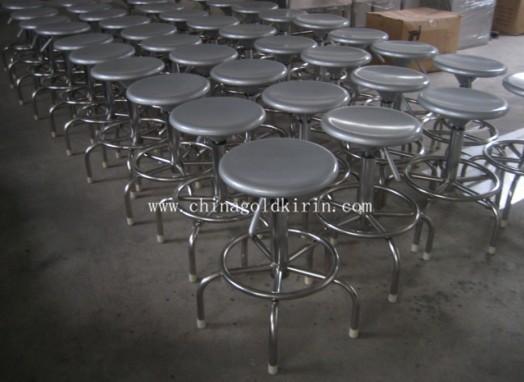 不锈钢圆凳