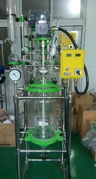 防爆三层玻璃反应釜DFT-10L(EX)