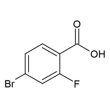 4-溴-2-氟苯甲酸